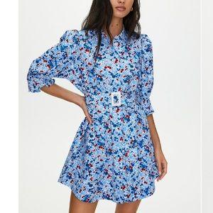 Aritzia Little Moon Sweetie Puff Sleeve Dress 0